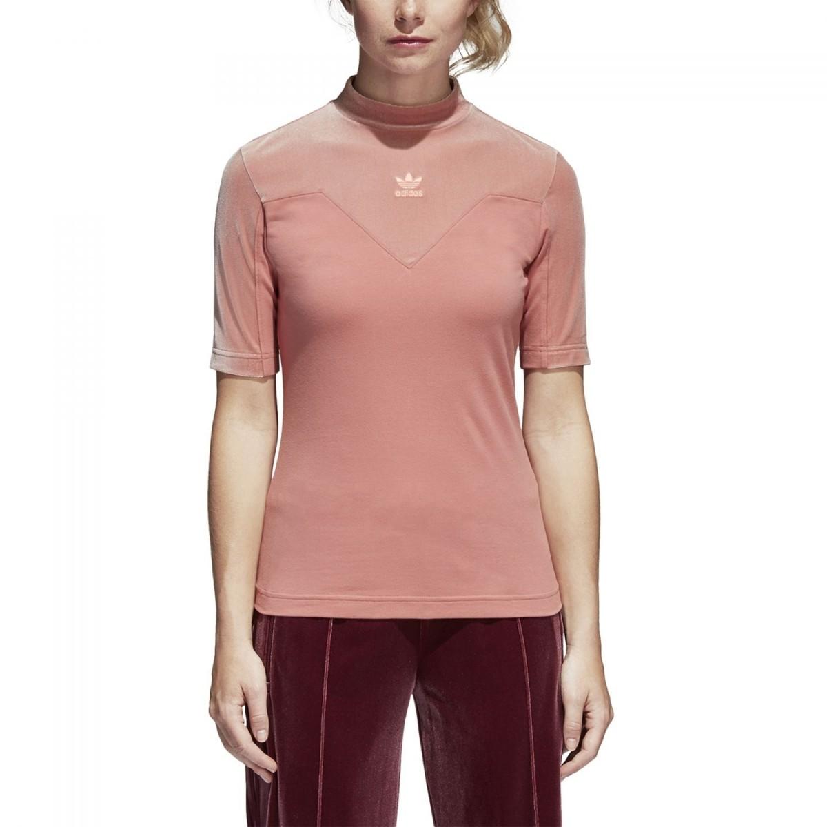 adidas Originals Velvet Vibes High Neck T-Shirt