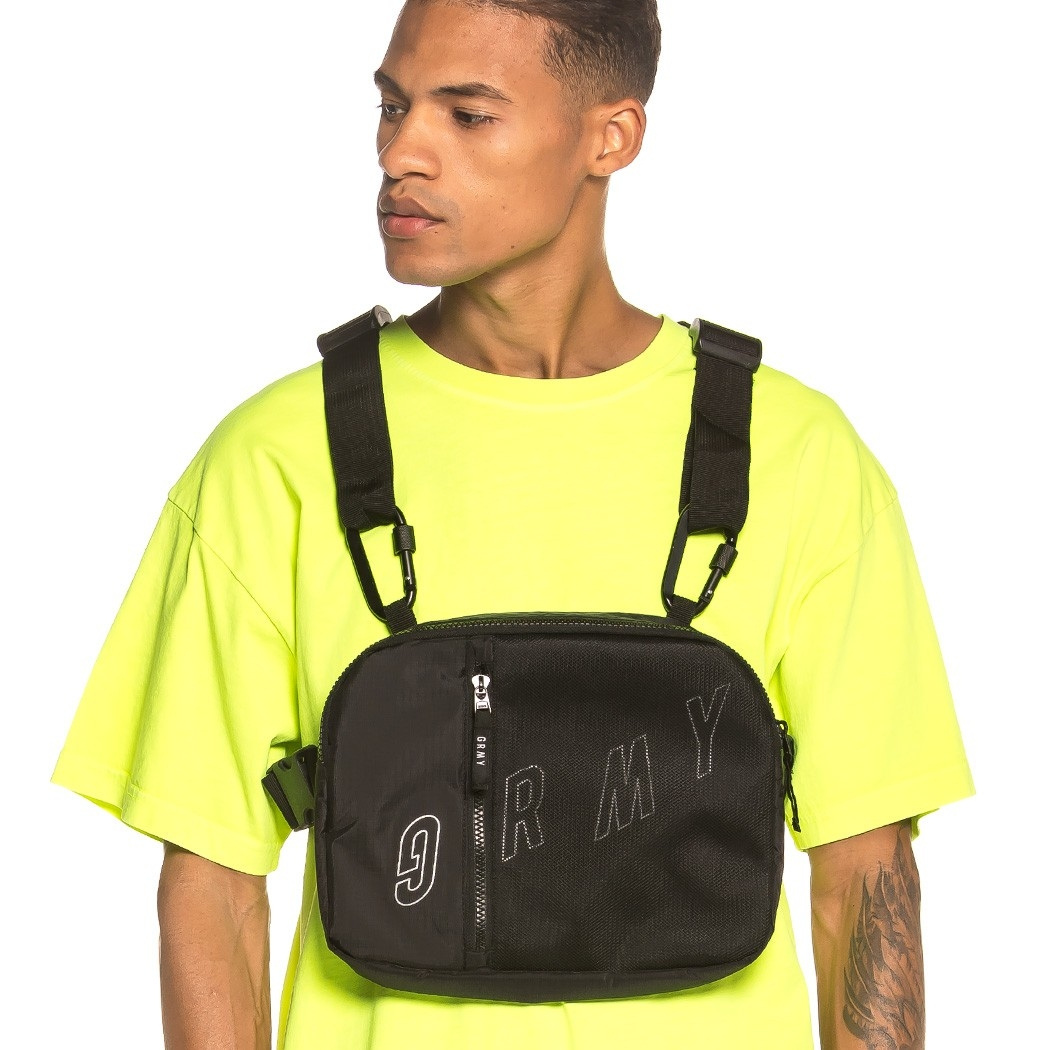 Grimey Flying Saucer Chest-Pack