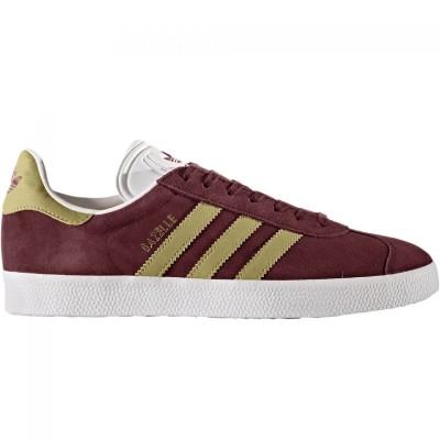 adidas Originals Gazelle Sneaker Herren Schuhe rot gold