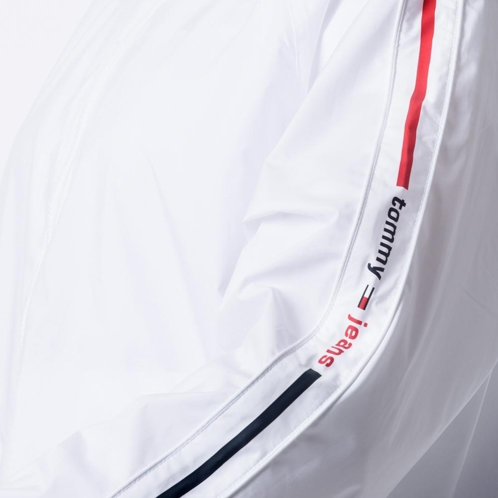 Tommy Jeans Windjacke mit Logo-Tape