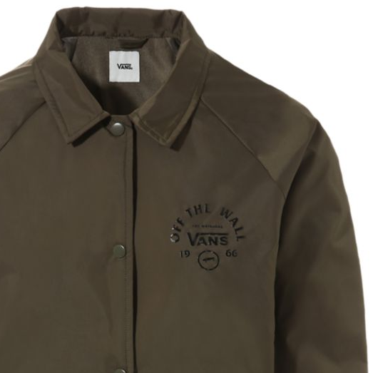 Vans Thanks Coach Attendance Jacket